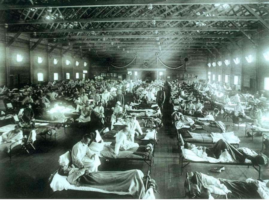 ธีระธรฌ์ หมอกัน โควิด-19 Social Distancing ยับยั้ง COVID-19 โรงพยาบาลทหารที่ตั้งขึ้นฉุกเฉิน สมัยหลังสงครามโลกครั้งที่ 1